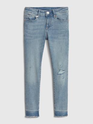 Gap Kids Super Skinny Distressed Jeans with Stretch