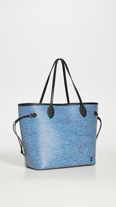 Shopbop Archive Louis Vuitton Neverfull Denim Bag