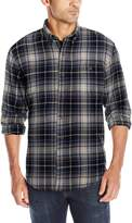 G.H. Bass & Co. Men's Long Sleeve Fireside Plaid Flannel Shirt