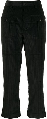 Gabriele Pasini front-pocket corduroy trousers