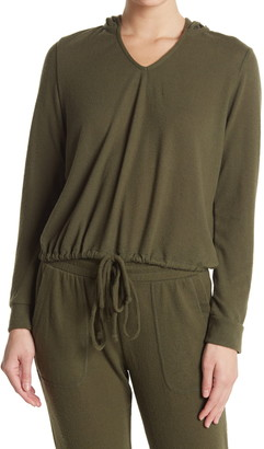 Gibson Hoodie Pullover Drawstring Top