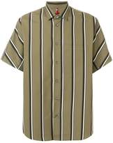 Oamc striped shortsleeved shirt
