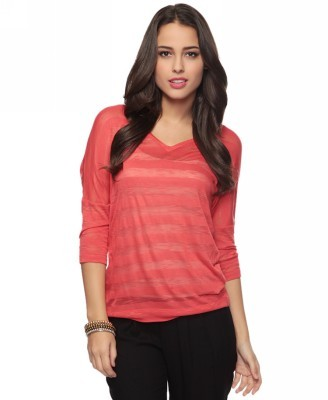 Forever 21 Style deals Heathered Stripes Top