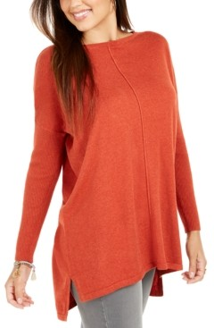 Style&Co. Style & Co Seam-Front Tunic Sweater, Created for Macy's