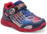 Stride Rite Spider-Man Spidey Senses Light-Up Sneakers, Toddler & Little Boys (4.5-3)