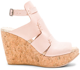 Free People Vachetta Rose Wedge