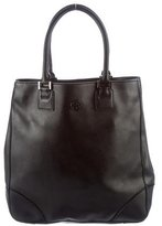 Tory Burch Leather Tall Tote