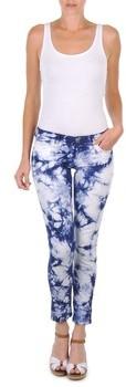 Cimarron CLARA TIE DYE women's Cropped trousers in Blue