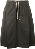 Rick Owens drawstring skorts - women - Cotton - S