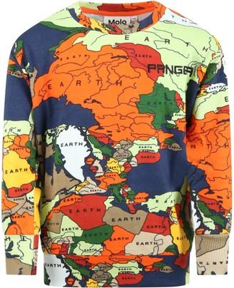 Molo Multicolor mik Sweatshirt For Boy