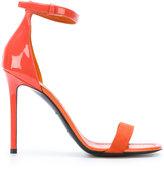 Emilio Pucci ankle strap stiletto sandals