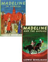Penguin Random House Penguin Group Madeline In London 2-Book Set