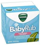 Vicks BabyRub Soothing Ointment 1.76 oz (50 g) by