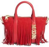 Moschino 'Letters' Fringe Shoulder Bag
