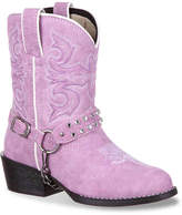 Durango Bling Harness Western Toddler & Youth Cowboy Boot - Girl's