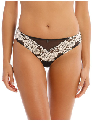 Chloé & Lola Flora Brazilian Brief in Black