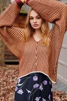 Urban Outfitters Ozzy Striped Dolman Sweater