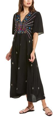 Johnny Was Janelle Silk Maxi Dress