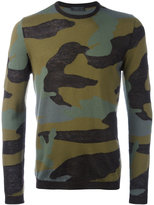 Prada camouflage jumper