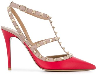 Valentino Rockstud caged 100mm pumps