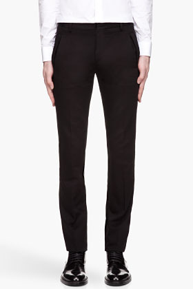 Givenchy Black pocket detail runway trousers