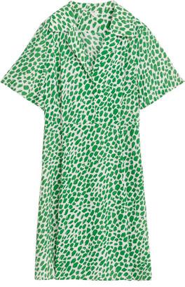 Arket Short Fluted Dress