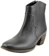 Luca Valentini L15bn Pointed Toe Leather Bootie.