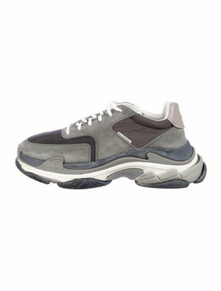 Balenciaga Triple S Sneakers V. 2 Chunky Sneakers Grey
