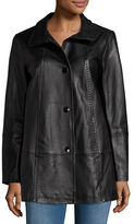 Gallery Leather Walking Coat