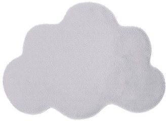 Cloud Faux Fur Washable Rug