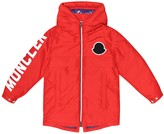 Thumbnail for your product : Moncler Enfant Airon hooded down jacket