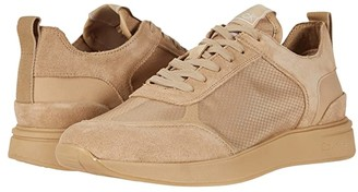 Calvin Klein Delbert (Dark Sand/Light Sand/Translucent Mesh/Silky Suede/Lycra) Men's Shoes