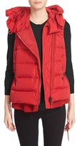 Moncler Women's 'Laurie' Hooded A-Line Down Vest