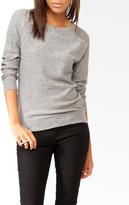 Forever 21 Rhinestoned Raglan Sweater
