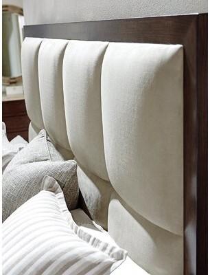 Lexington Laurel Canyon Upholstered Panel Headboard Size: King