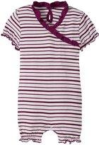 Kickee Pants Print Ruffle Romper (Baby) - Animal Stripe - 18-24 Months