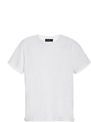Amiri Shotgun Distressed Cotton-Jersey T-Shirt