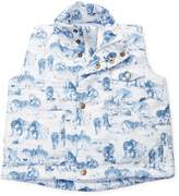 Baby CZ Printed Quilted Vest