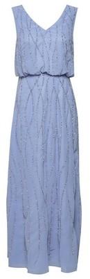 Dorothy Perkins Womens Showcase Petite Blue Bridesmaid 'Morgan' Maxi Dress, Blue