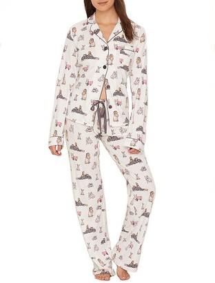 PJ Salvage Pawjamas All Day Knit Pajama Set