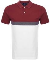 Gant Tech Prep Rugger Polo T Shirt Red