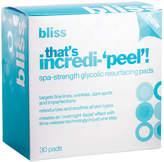 Bliss That's Incredi-'peel'! Resurfacing Pads