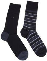 Calvin Klein New Mens Blue Lorenz Cotton/Polyamide Socks Fashion