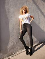 Charlotte Russe Refuge Hi-Rise Frayed Hem Skinny Jeans
