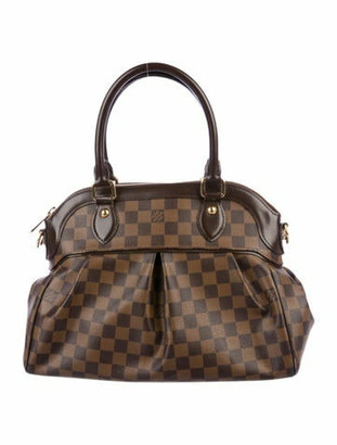 Louis Vuitton Damier Ebene Trevi PM Brown