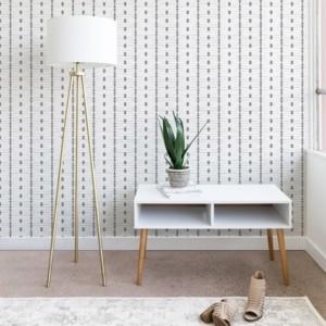 Deny Designs Holli Zollinger French Linen Tribal Stripe 2'x10' Wallpaper