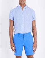 Polo Ralph Lauren Regular-fit check-print linen shirt