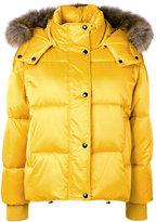 P.A.R.O.S.H. puffer Peter jacket - women - Polyester/Marmot Fur - XS