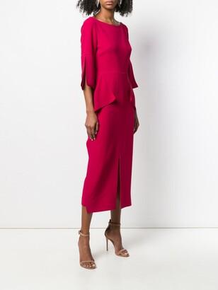 Roland Mouret Crane dress