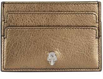 Alexander McQueen Skull Leather Envelope Card Holder
